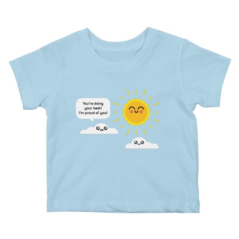 Proud Cloud Kids Baby T-Shirt by Mouki K. Butt: Artist Shop