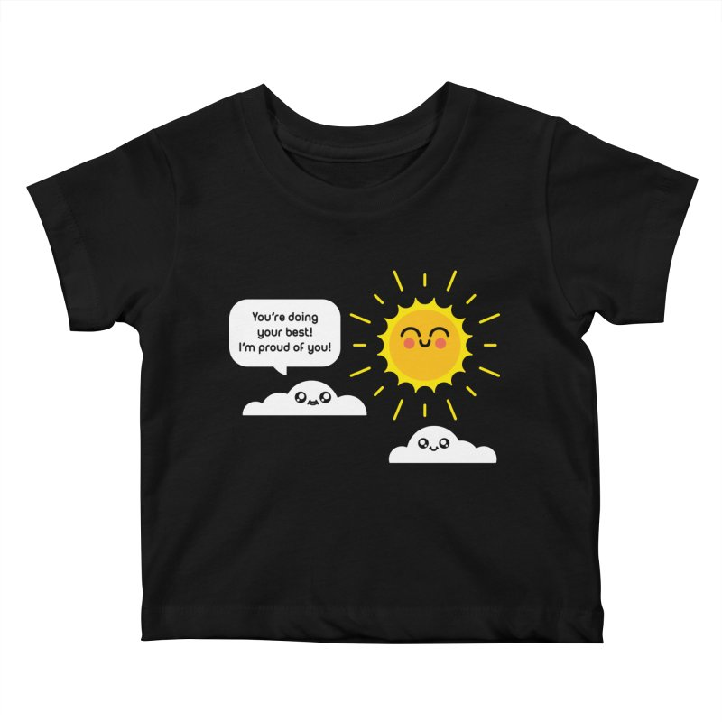 Proud Cloud Kids Baby T-Shirt by Mouki K. Butt: Artist Shop