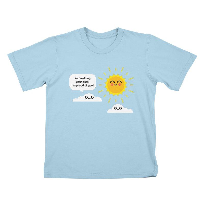 Proud Cloud Kids T-Shirt by Mouki K. Butt: Artist Shop
