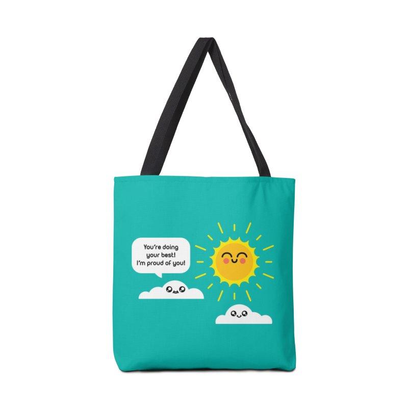 Proud Cloud Accessories Tote Bag Bag by Mouki K. Butt: Artist Shop