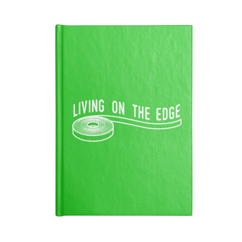 My Edgebander! Accessories Blank Journal Notebook by Mouki K. Butt: Artist Shop