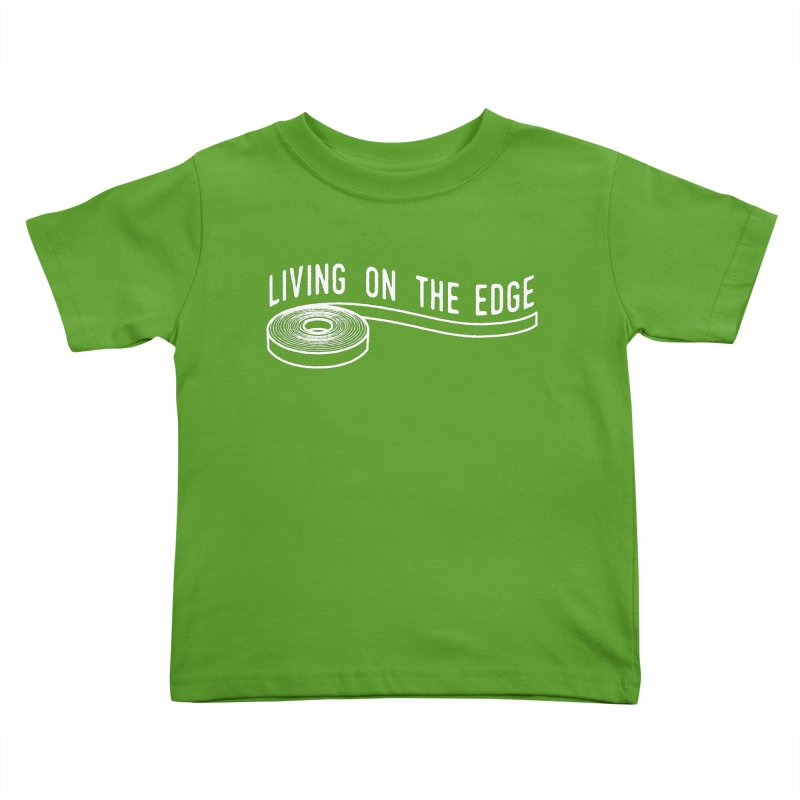 My Edgebander! Kids Toddler T-Shirt by Mouki K. Butt: Artist Shop