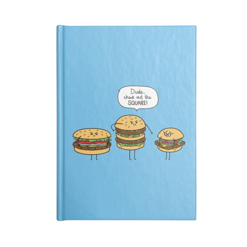 Burger Bullies Accessories Lined Journal Notebook by Mouki K. Butt: Artist Shop
