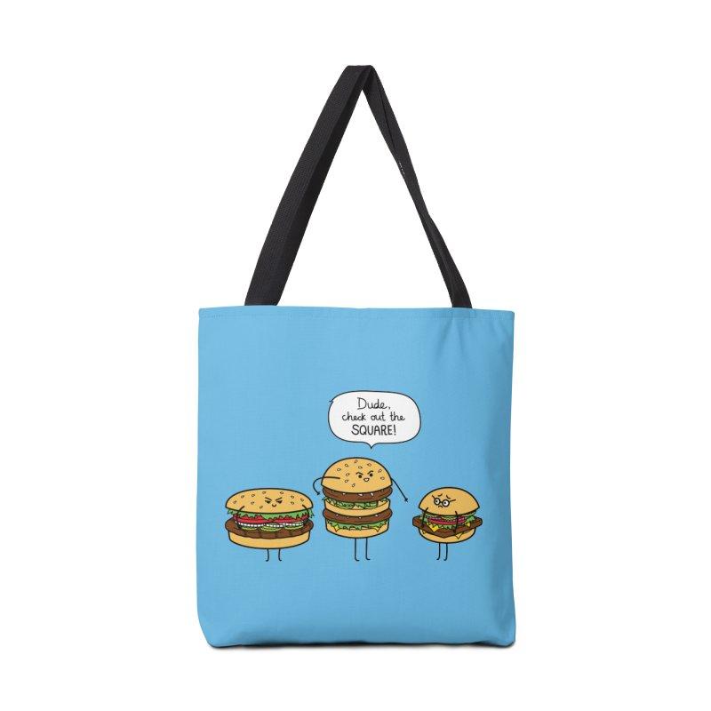 Burger Bullies Accessories Bag by Mouki K. Butt: Artist Shop