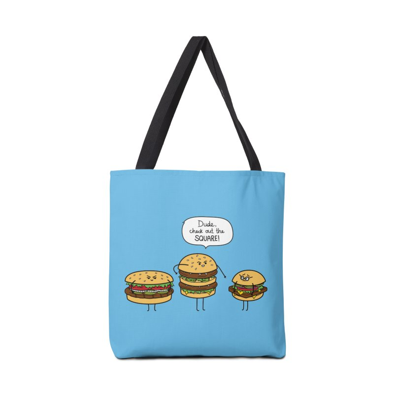 Burger Bullies Accessories Tote Bag Bag by Mouki K. Butt: Artist Shop