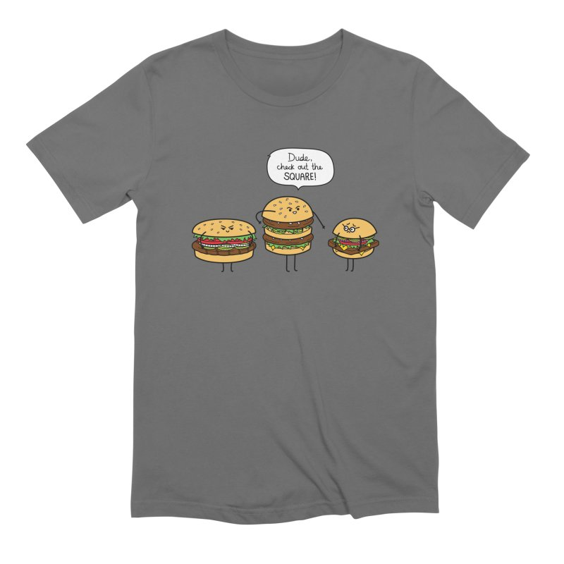 Burger Bullies Men's T-Shirt by Mouki K. Butt: Artist Shop
