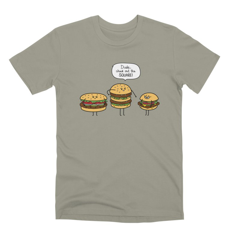 Burger Bullies Men's Premium T-Shirt by Mouki K. Butt: Artist Shop