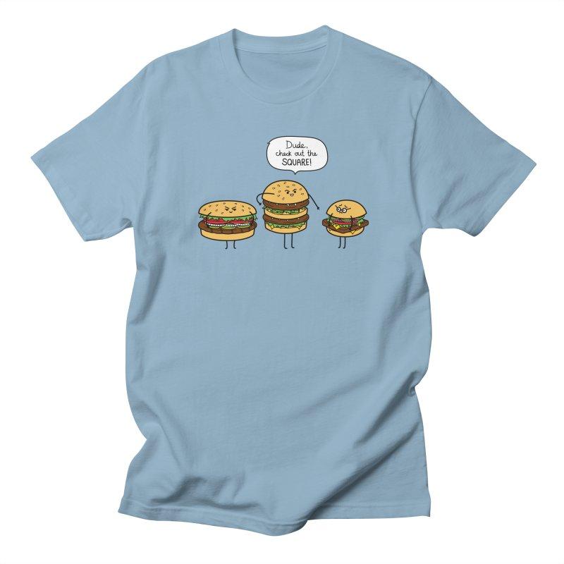 Burger Bullies Men's Regular T-Shirt by Mouki K. Butt: Artist Shop