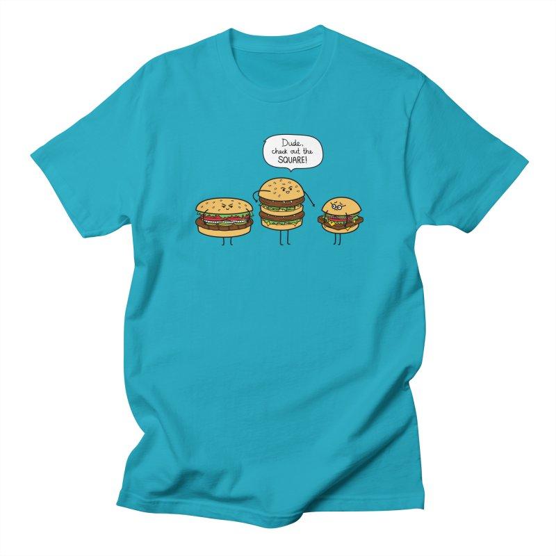 Burger Bullies Men's T-Shirt by Mouki K. Butt: Artist Shop