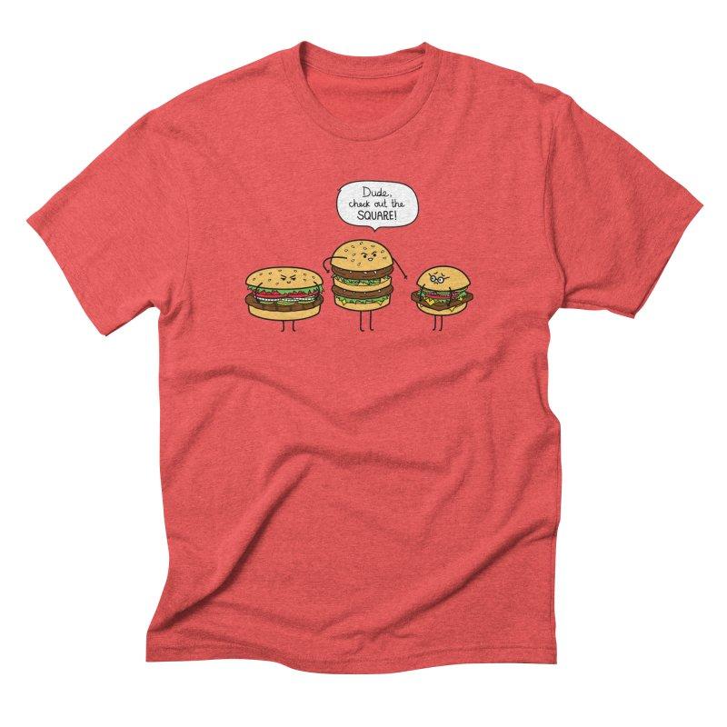 Burger Bullies Men's Triblend T-Shirt by Mouki K. Butt: Artist Shop