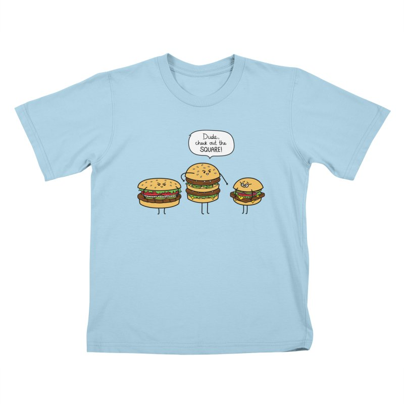 Burger Bullies Kids T-Shirt by Mouki K. Butt: Artist Shop