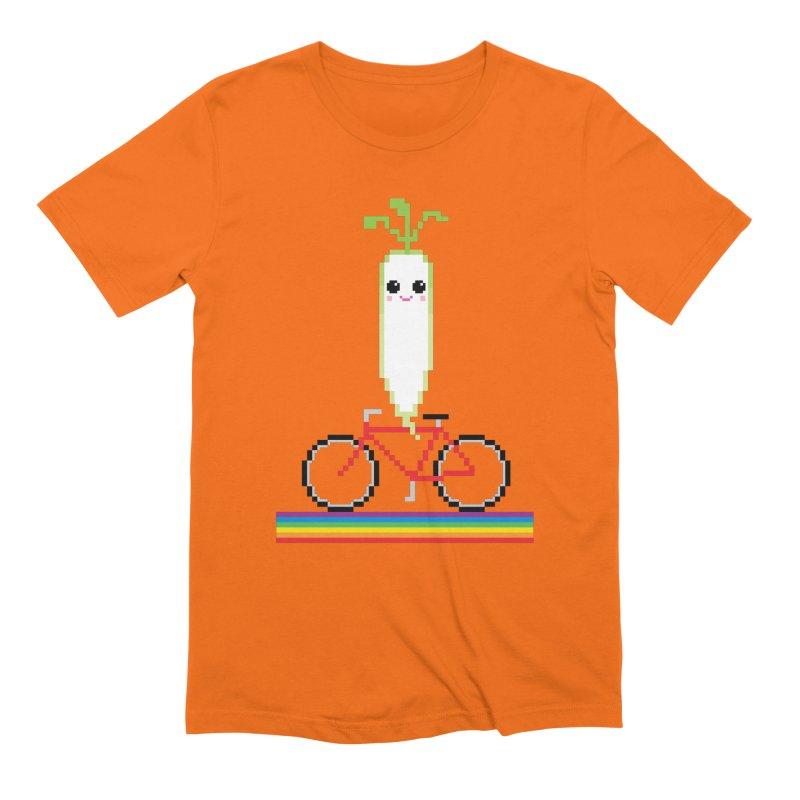 Daikon Bike Men's Extra Soft T-Shirt by Mouki K. Butt: Artist Shop