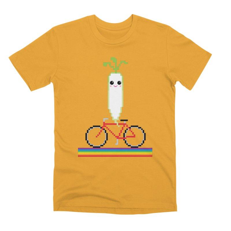Daikon Bike Men's Premium T-Shirt by Mouki K. Butt: Artist Shop