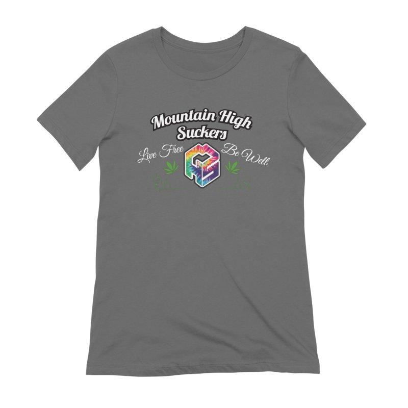 MHS Official Merch (dark) Women's T-Shirt by Mountain High Suckers Merch