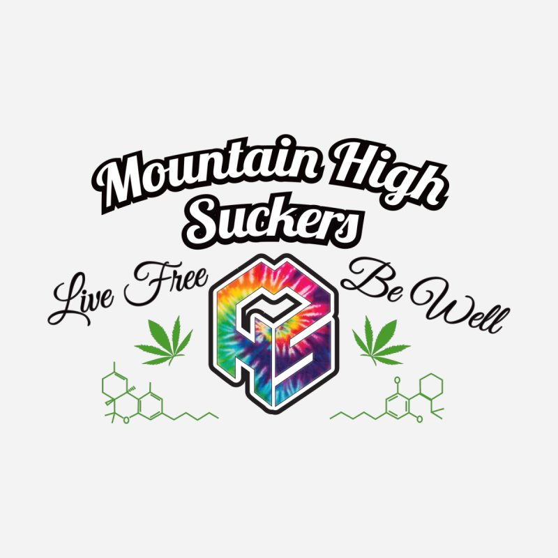 MHS Official Merch (light) Accessories Sticker by Mountain High Suckers Merch