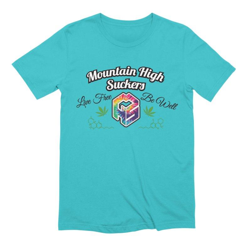 MHS Official Merch (light) Men's T-Shirt by Mountain High Suckers Merch