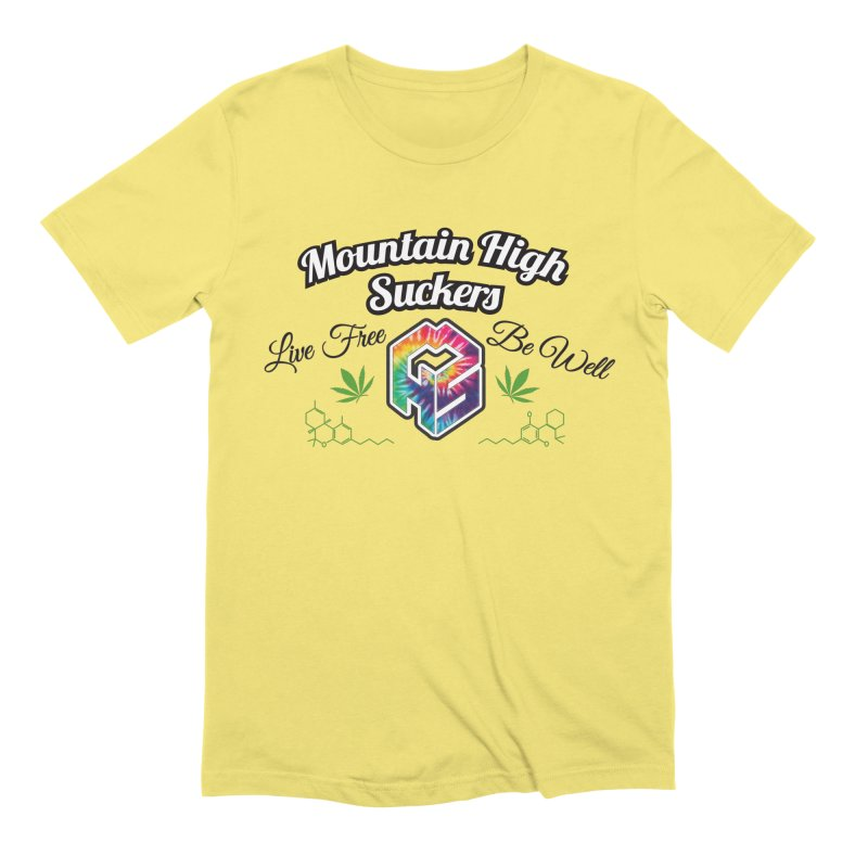MHS Official Merch (light) Men's T-Shirt by Mountain High Suckers Merch