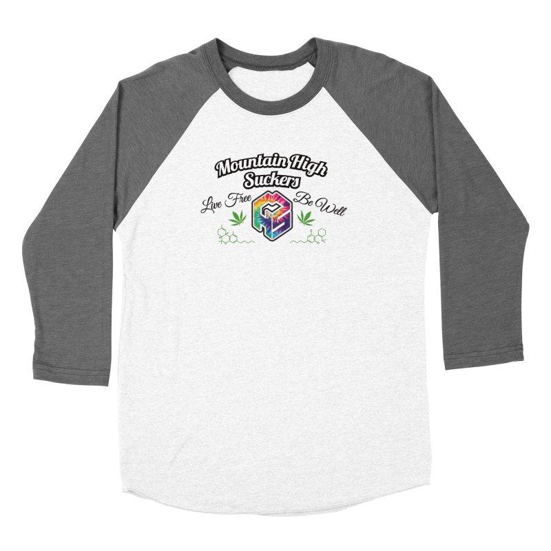MHS Official Merch (light) Women's Longsleeve T-Shirt by Mountain High Suckers Merch