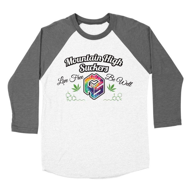 MHS Official Merch (light) Women's Baseball Triblend Longsleeve T-Shirt by Mountain High Suckers Merch