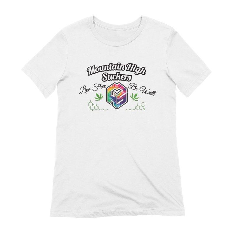 MHS Official Merch (light) Women's T-Shirt by Mountain High Suckers Merch