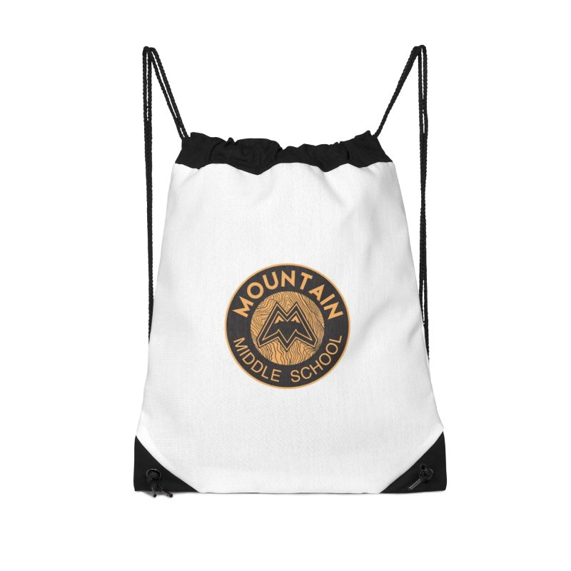 CLICK HERE TO SELECT ITEMS Accessories Drawstring Bag Bag by Mountain Middle School