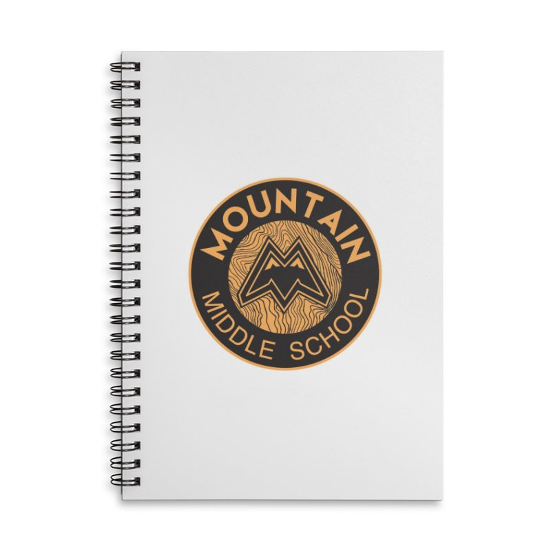 CLICK HERE TO SELECT ITEMS Accessories Lined Spiral Notebook by Mountain Middle School