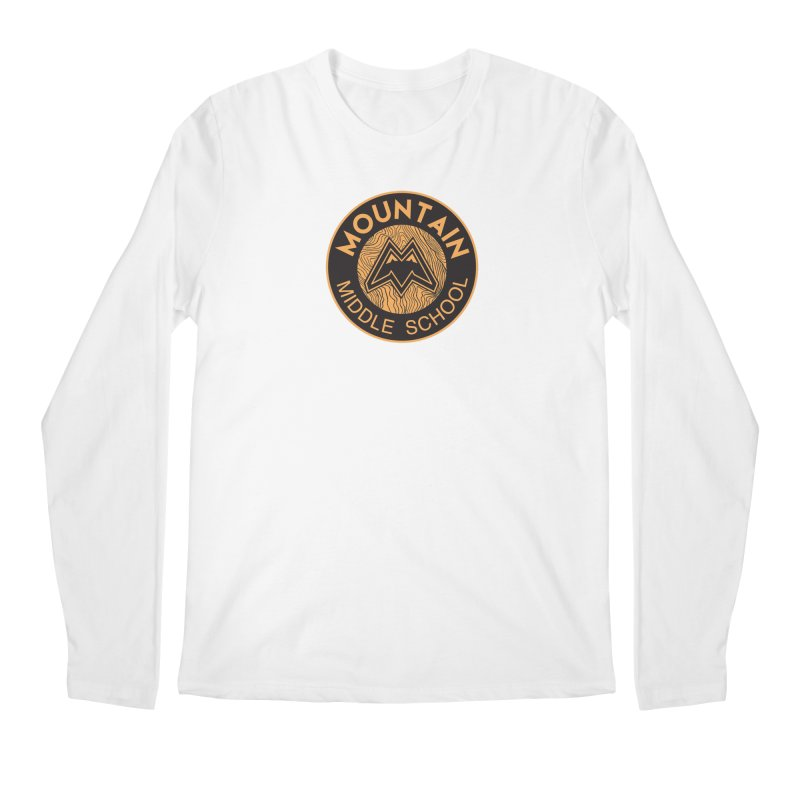 CLICK HERE TO SELECT ITEMS Men's Regular Longsleeve T-Shirt by Mountain Middle School