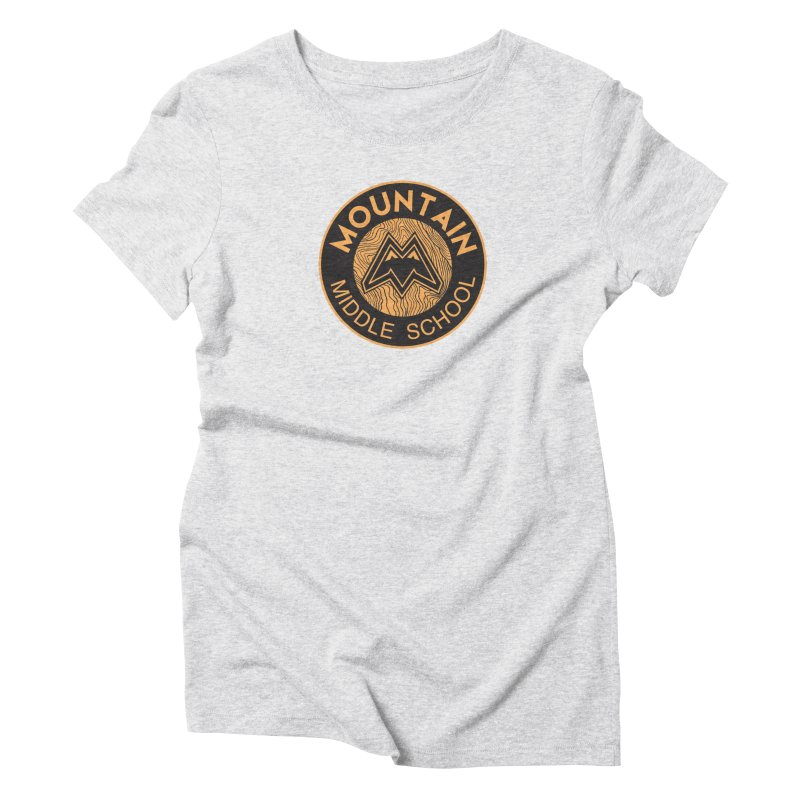 CLICK HERE TO SELECT ITEMS Women's Triblend T-Shirt by Mountain Middle School