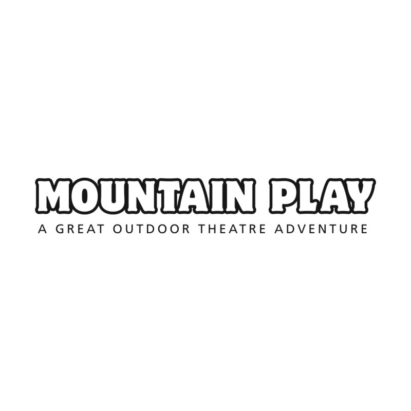 Mountain Play Logo (for light colors) Accessories Face Mask by Mountain Play Shop
