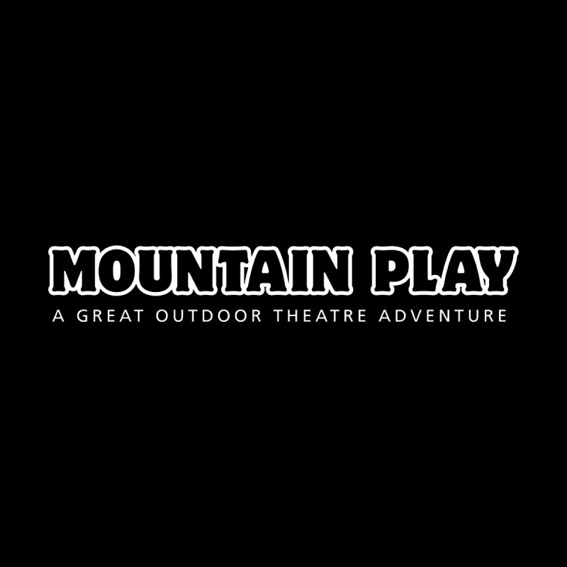 Mountain Play Logo (white for dark colors) Men's Tank by Mountain Play Shop