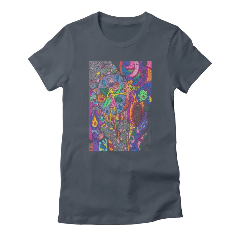 The Patella Tarot - The Idealist (Fool) Fitted Clothing Styles T-Shirt by Paint AF's Artist Shop