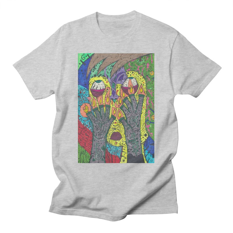 10 of Candles of the Patella Tarot: Burdens/Resilience Comfortable Styles T-Shirt by Paint AF's Artist Shop