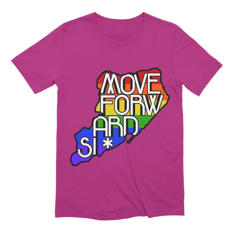 PRIDE Men's Extra Soft T-Shirt by moveforwardsi's Artist Shop