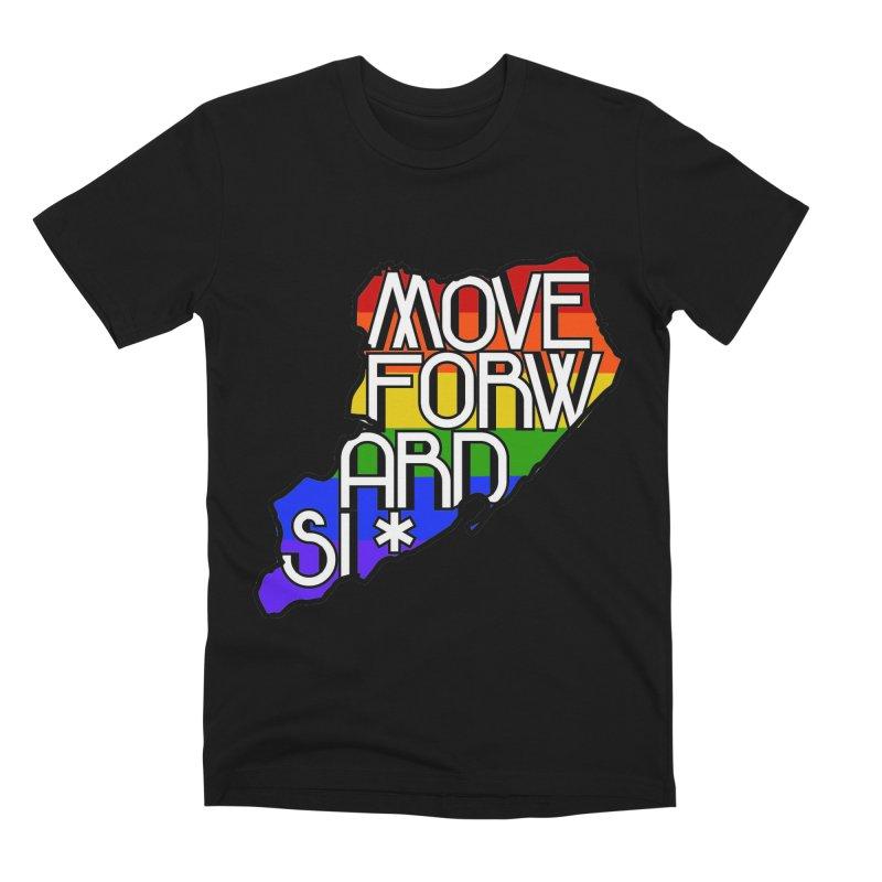 PRIDE Men's Premium T-Shirt by moveforwardsi's Artist Shop