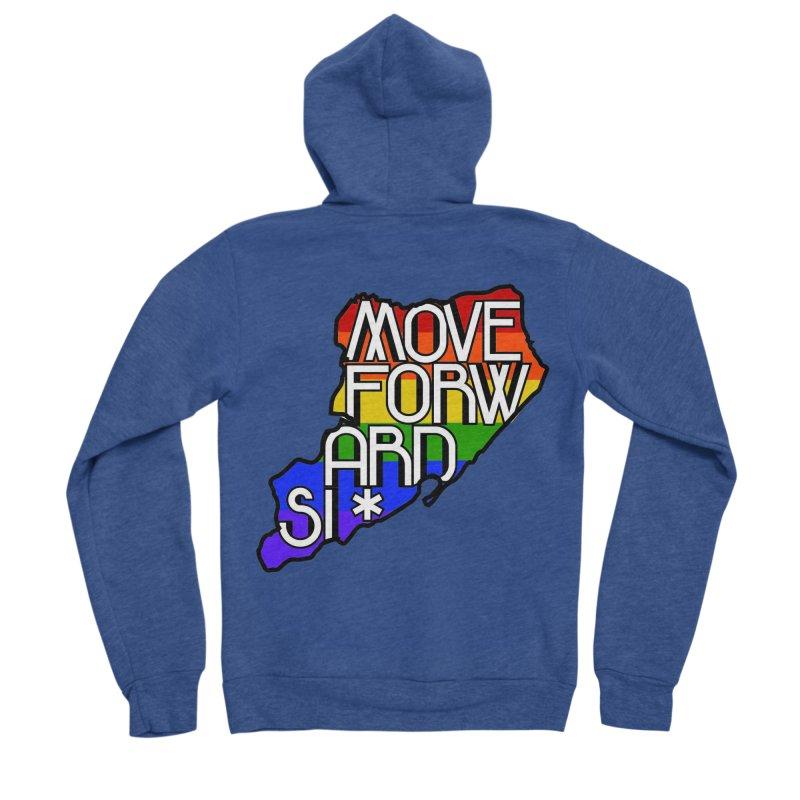 PRIDE Women's Sponge Fleece Zip-Up Hoody by moveforwardsi's Artist Shop
