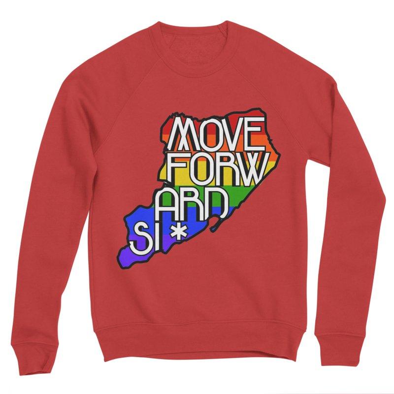 PRIDE Men's Sponge Fleece Sweatshirt by moveforwardsi's Artist Shop