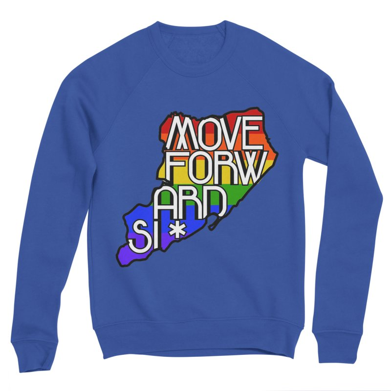 PRIDE Men's Sponge Fleece Sweatshirt by moveforwardsi's Artist Shop