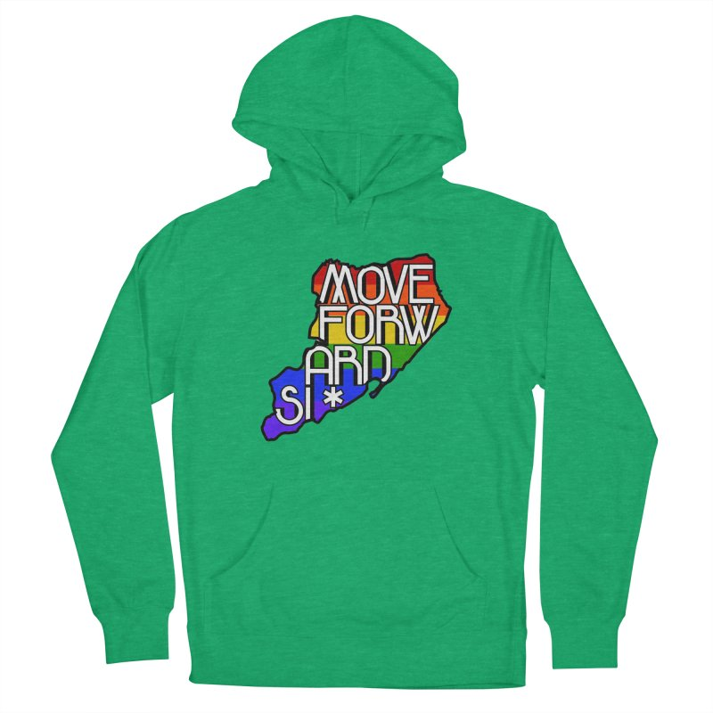 PRIDE Men's French Terry Pullover Hoody by moveforwardsi's Artist Shop