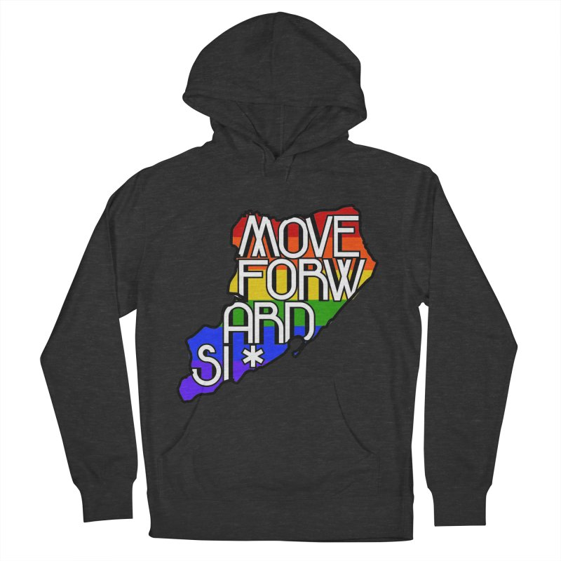 PRIDE Women's French Terry Pullover Hoody by moveforwardsi's Artist Shop
