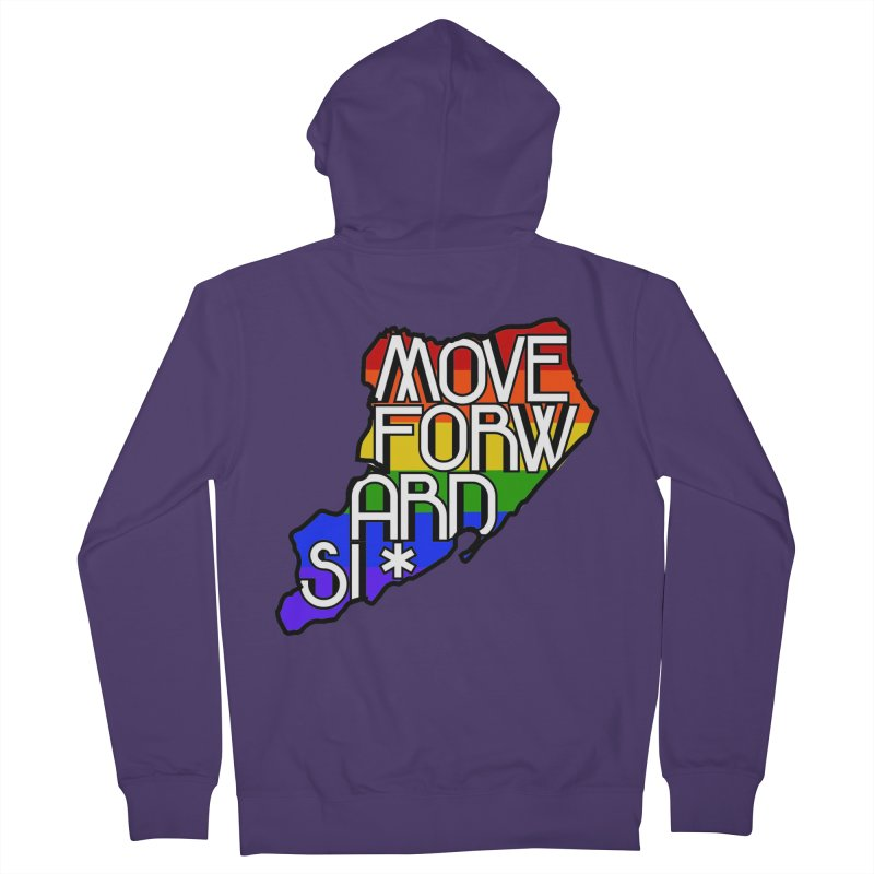 PRIDE Women's French Terry Zip-Up Hoody by moveforwardsi's Artist Shop
