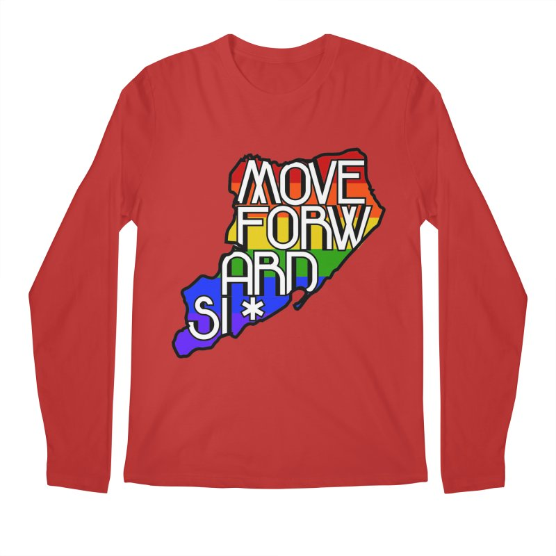 PRIDE Men's Regular Longsleeve T-Shirt by moveforwardsi's Artist Shop
