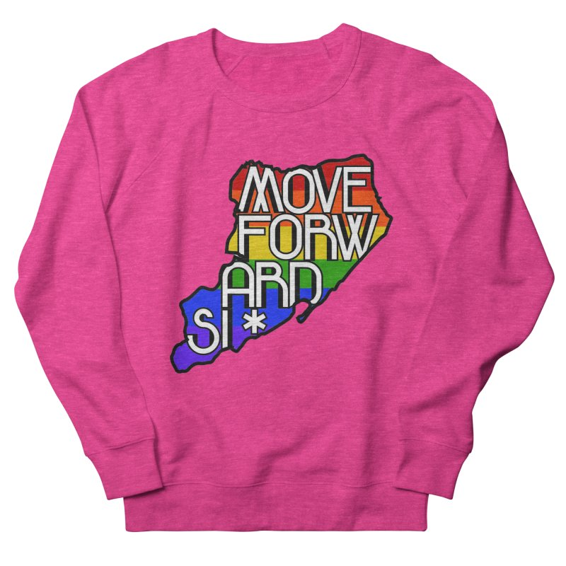 PRIDE Men's French Terry Sweatshirt by moveforwardsi's Artist Shop