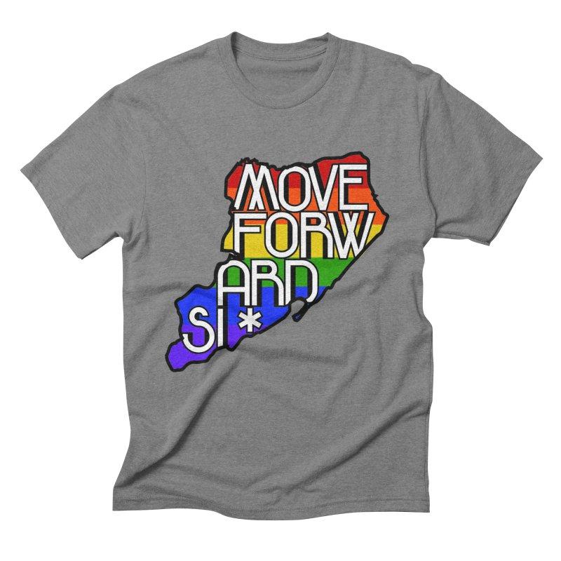 PRIDE Men's Triblend T-Shirt by moveforwardsi's Artist Shop