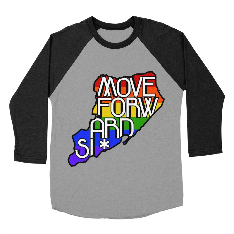PRIDE Women's Baseball Triblend Longsleeve T-Shirt by moveforwardsi's Artist Shop