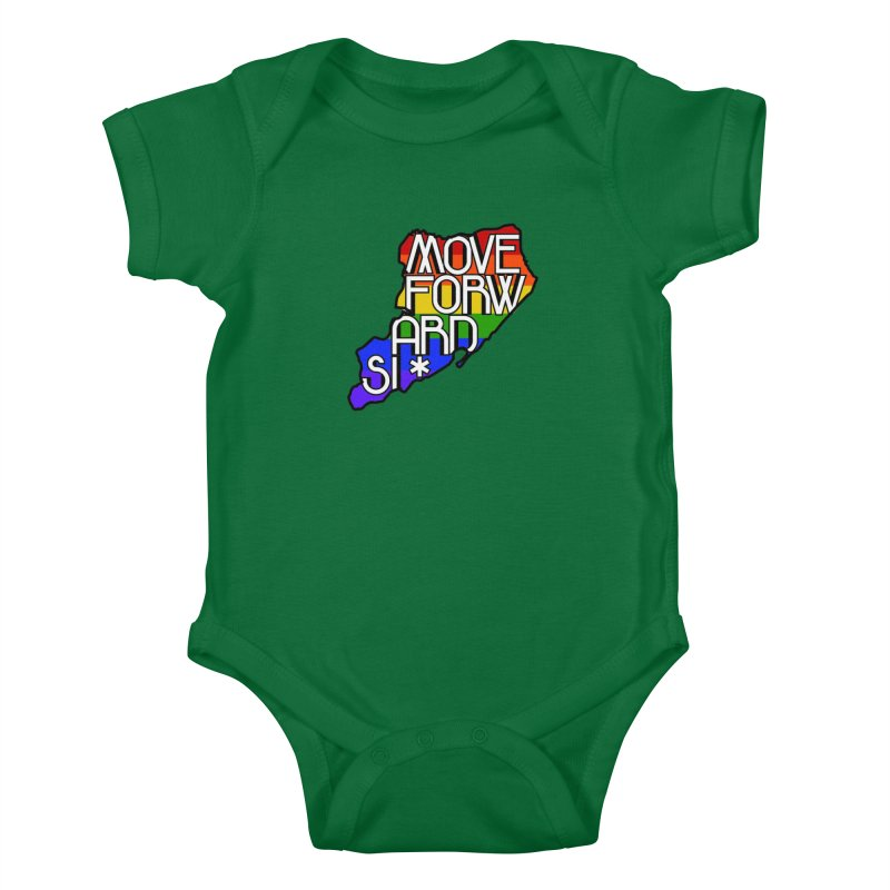 PRIDE Kids Baby Bodysuit by moveforwardsi's Artist Shop