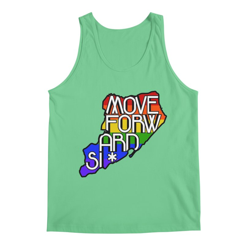 PRIDE Men's Regular Tank by moveforwardsi's Artist Shop