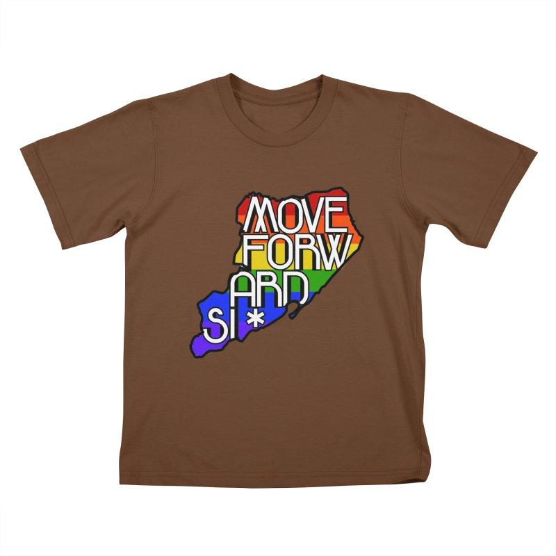 PRIDE Kids T-Shirt by moveforwardsi's Artist Shop