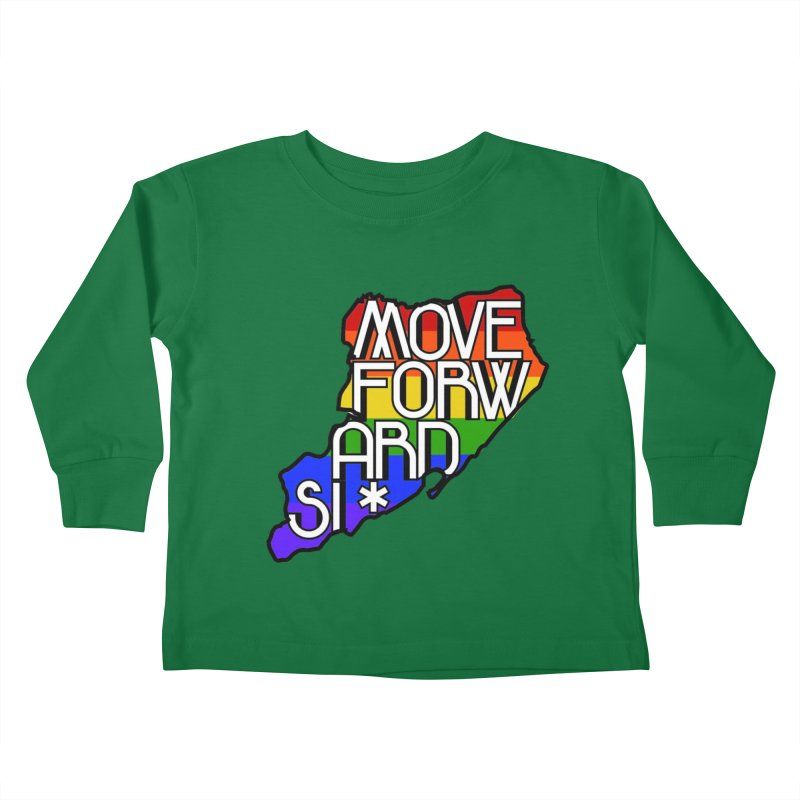 PRIDE Kids Toddler Longsleeve T-Shirt by moveforwardsi's Artist Shop