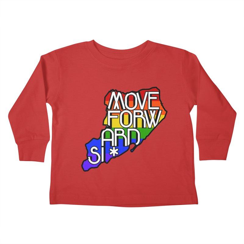 PRIDE Kids Toddler Longsleeve T-Shirt by moveforwardsi's Artist Shop