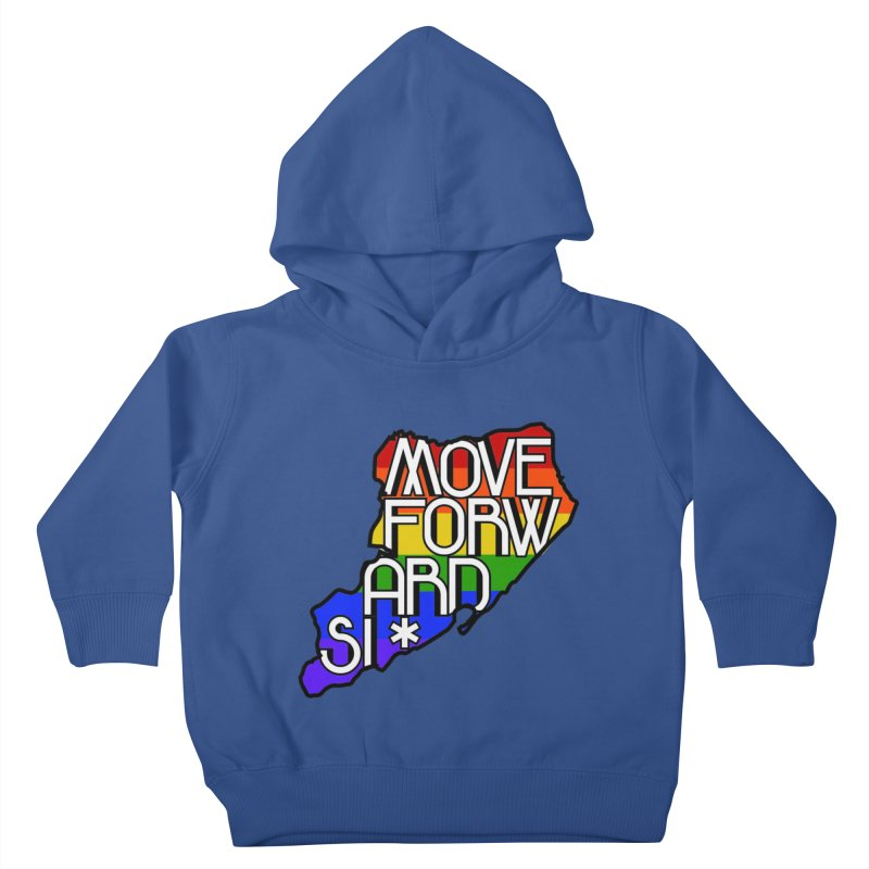 PRIDE Kids Toddler Pullover Hoody by moveforwardsi's Artist Shop